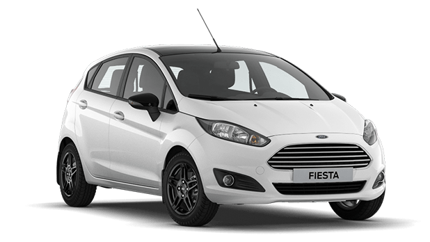 Ford Fiesta White/Black 5D 1.6л (105 л.с.) МТ