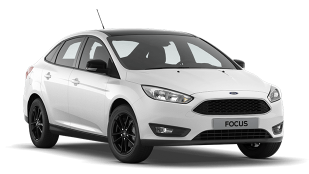 Ford Focus White/Black 1,6 (125лс) МКПП, седан