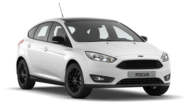Ford Focus White/Black 1,6 (125лс) МКПП, хэтчбек